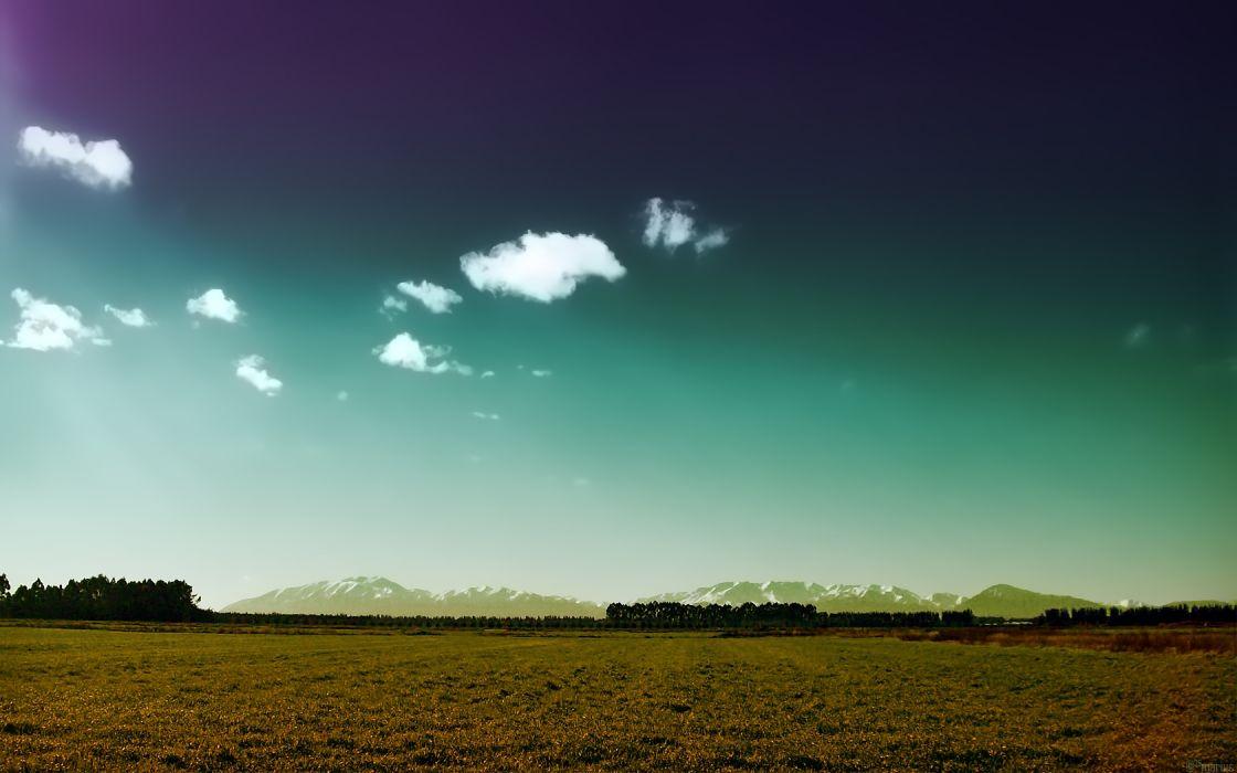 landscapes skyscapes wallpaper