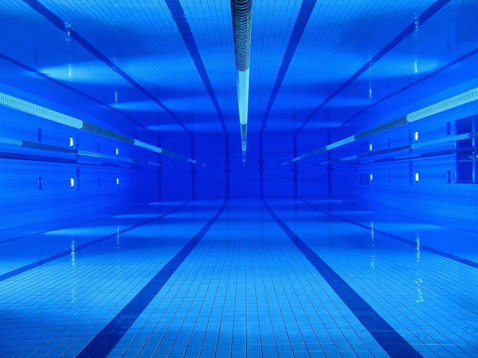 swimming pools underwater wallpaper