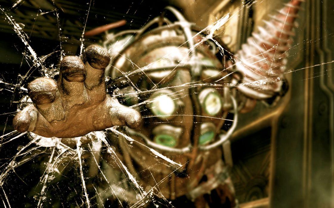 video games Big Daddy BioShock wallpaper