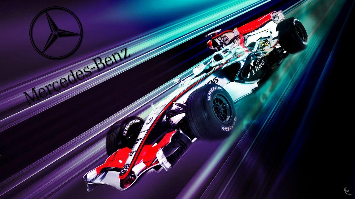 black red cars sports Formula One Mercedes-Benz fast  Mercedes Benz Benz wallpaper