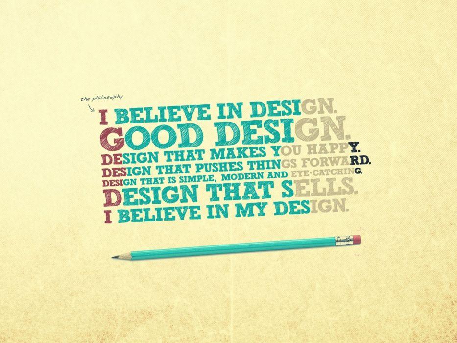 design typography pencils wallpaper