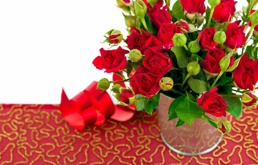 roses buds valentine    d wallpaper