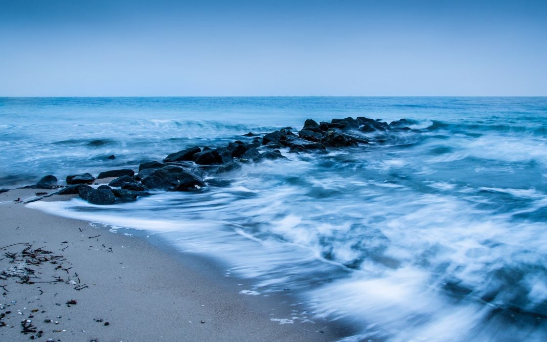 nature landscape sea river water wallpaper