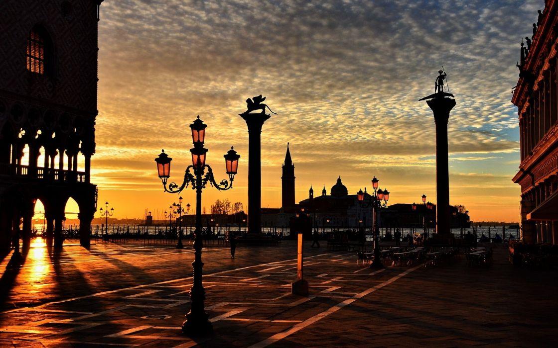 street italia lantern venezia lights city italy wallpaper