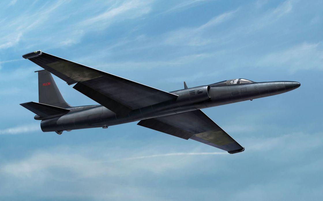 art plane y-2 u-2r lockheed jet military wallpaper