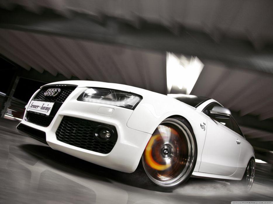 Audi S5 White wallpaper