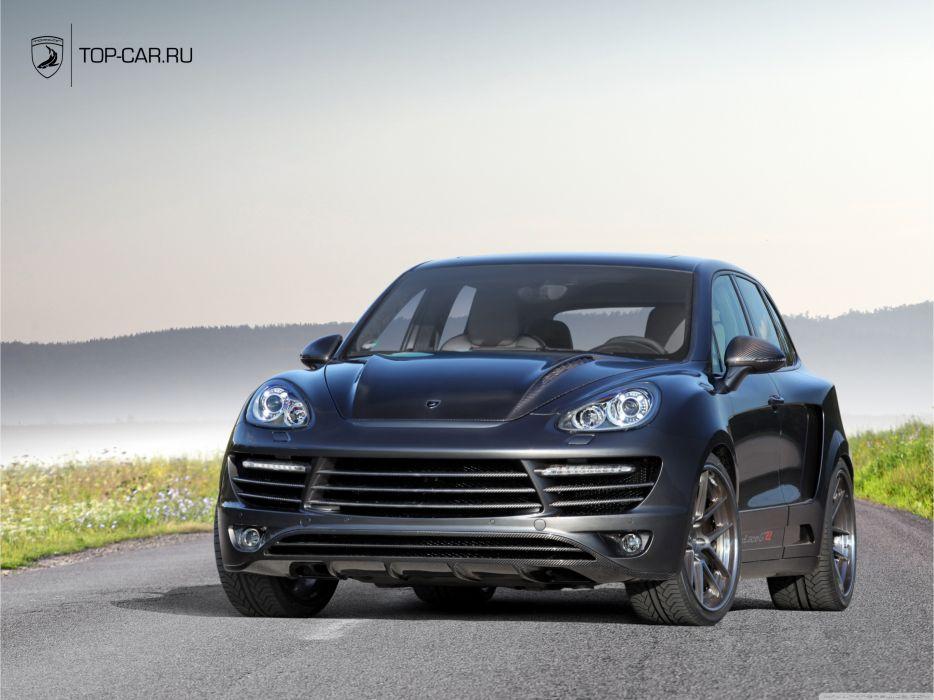 Porsche Cayenne Vantage GTR wallpaper