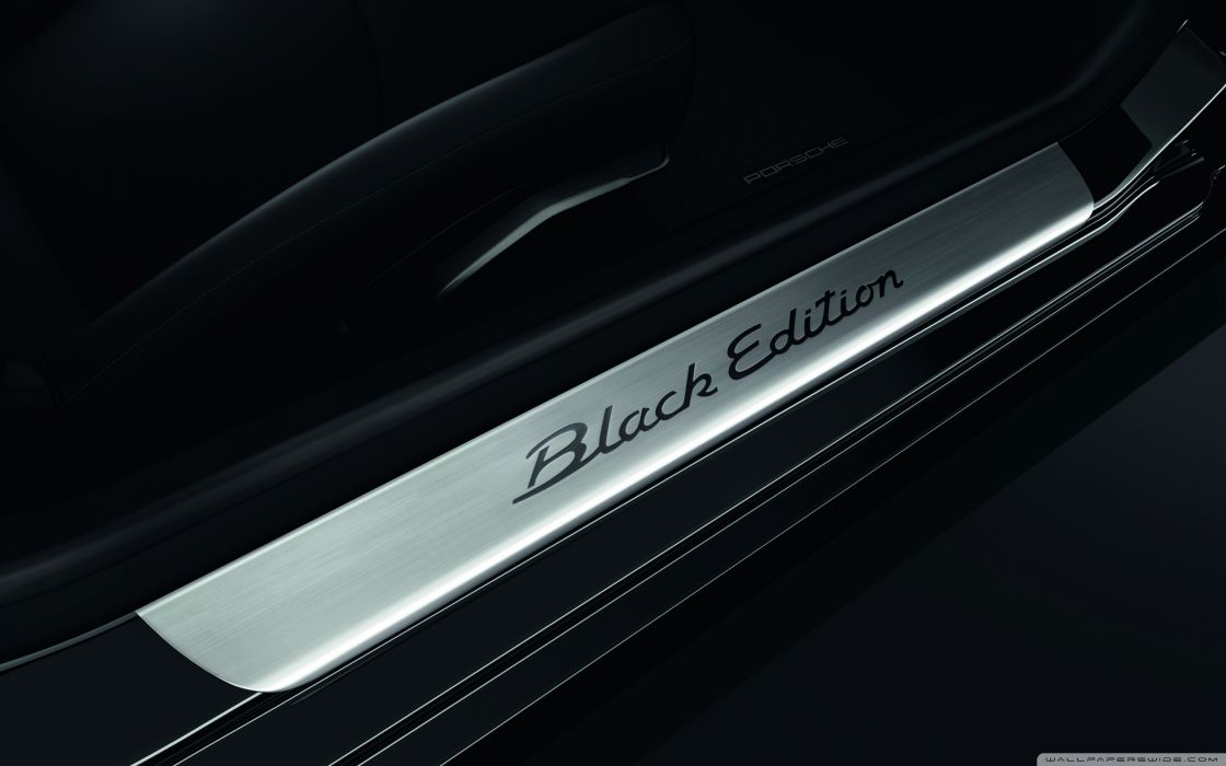Porsche Black Edition Wallpaper 2560x1600 Wallpaper