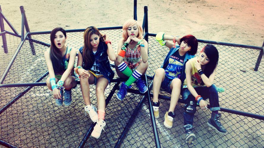 GLAM K-pop music South Korea the girls asian kpop wallpaper