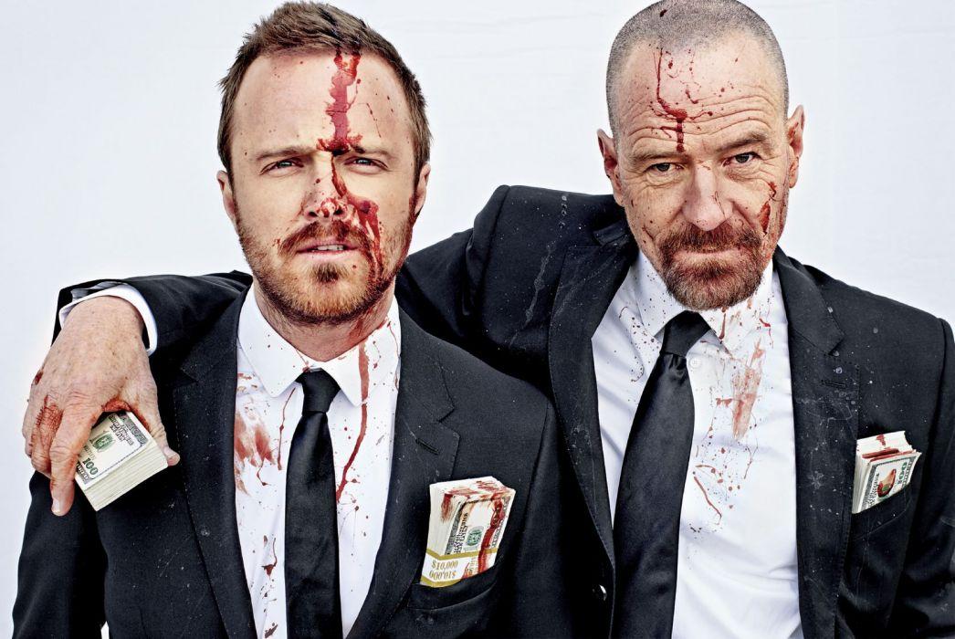 Breaking Bad Suit Blood Money Cash Currency Bryan Cranston Aaron Paul wallpaper