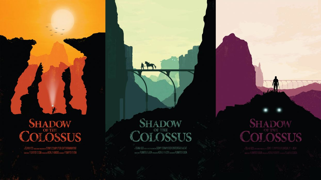 Shadow of the Colossus fantasy wallpaper