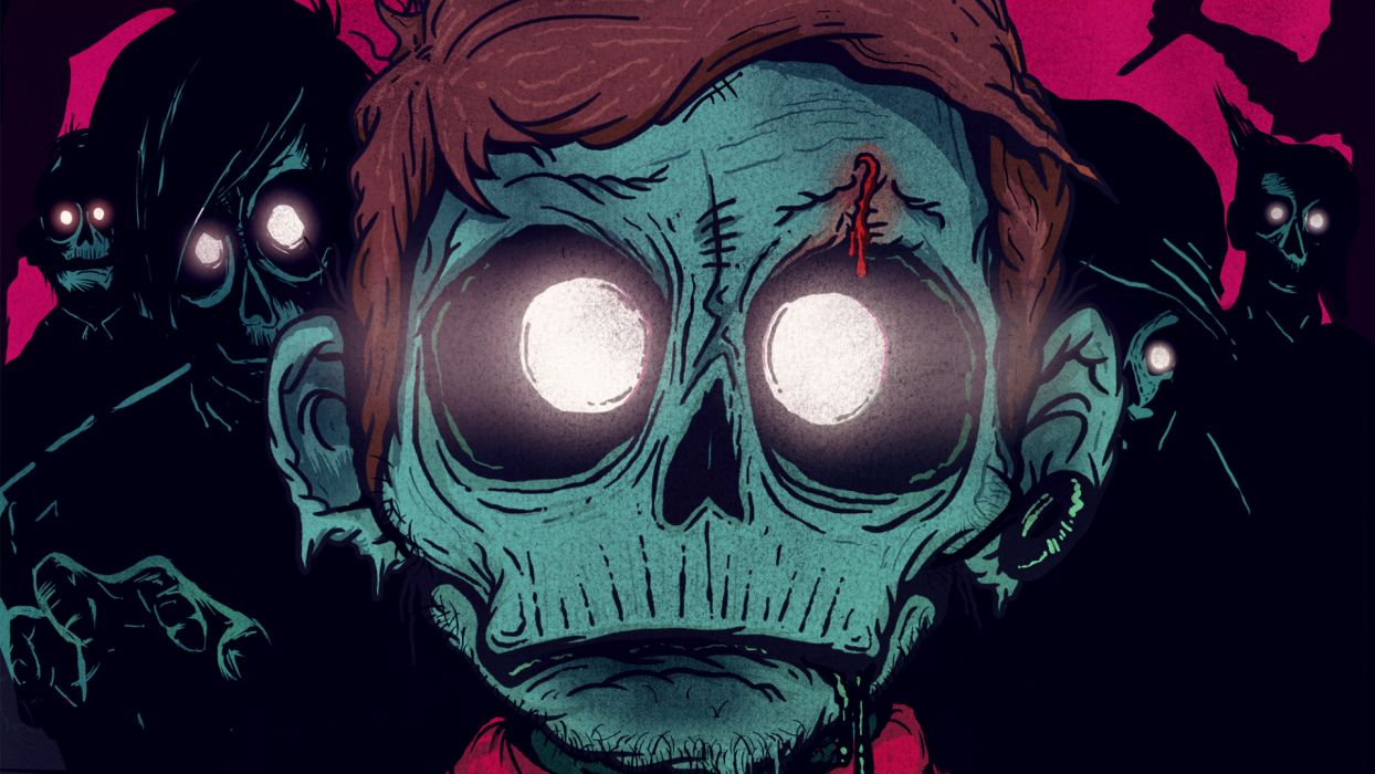 Zombie Face wallpaper