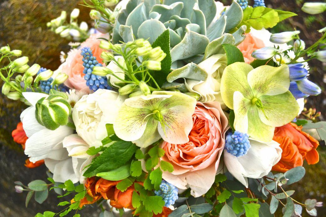 Bouquet Delphinium Tulips Ranunculus Hyacinths Flowers Wallpaper 3072x2048 228634 Wallpaperup