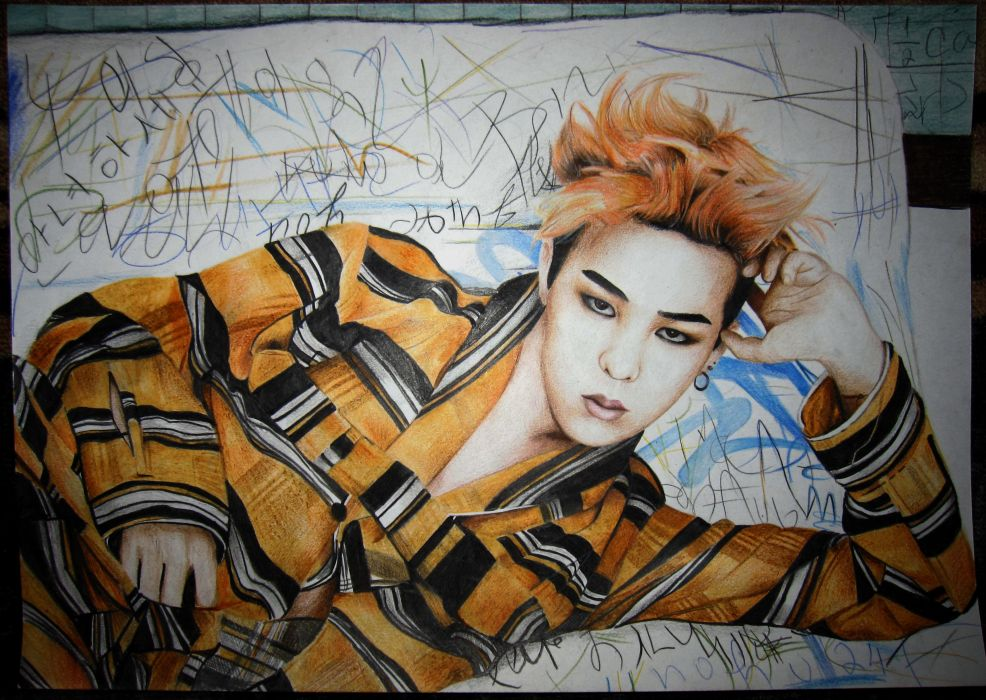G-Dragon BigBang hip hop k-pop korean kpop pop (8) wallpaper