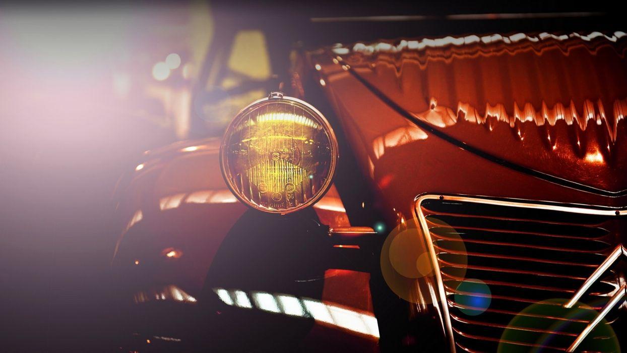 vintage cars CitroAIA wallpaper
