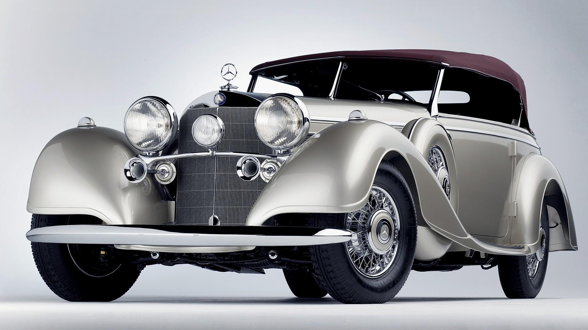 Vintage cars classic cars mercedes benz wallpaper for Mercedes benz vintage cars
