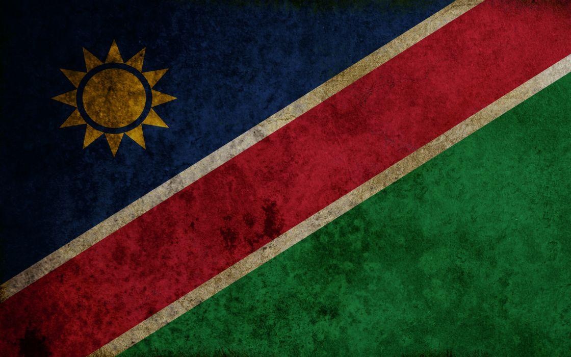 flags Namibia wallpaper