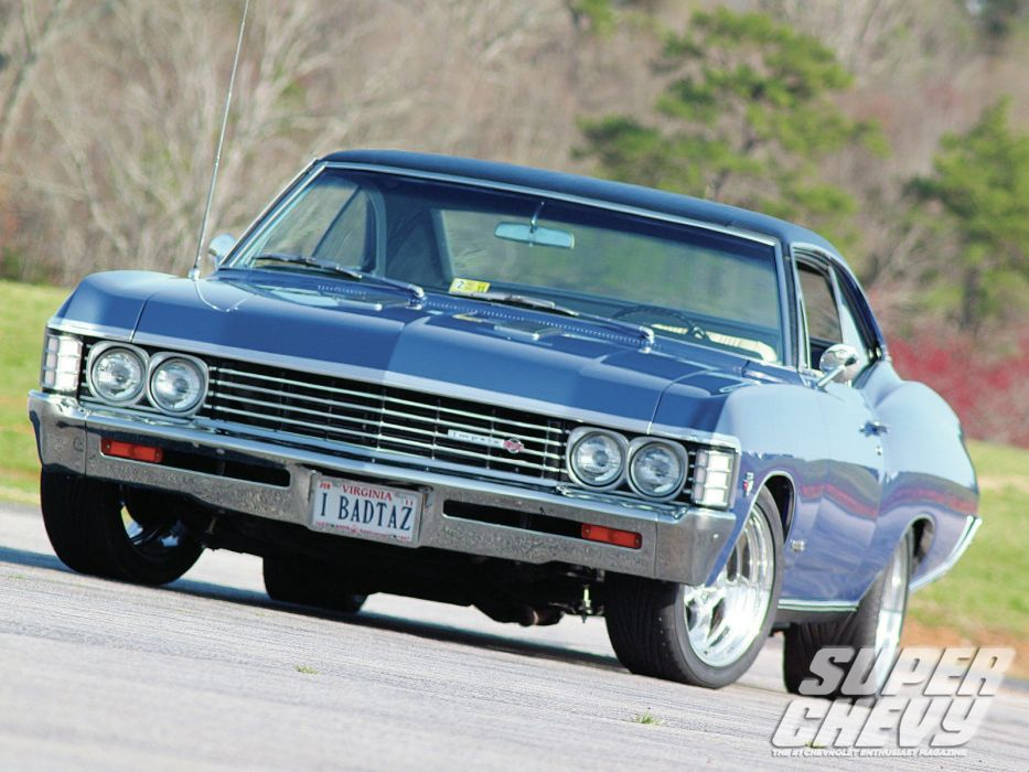 cars muscle cars Chevrolet Impala Super Chevy Magazine wallpaper