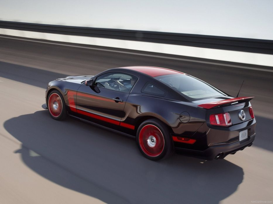 black cars vehicles Ford Mustang Ford Mustang Boss 302 wallpaper