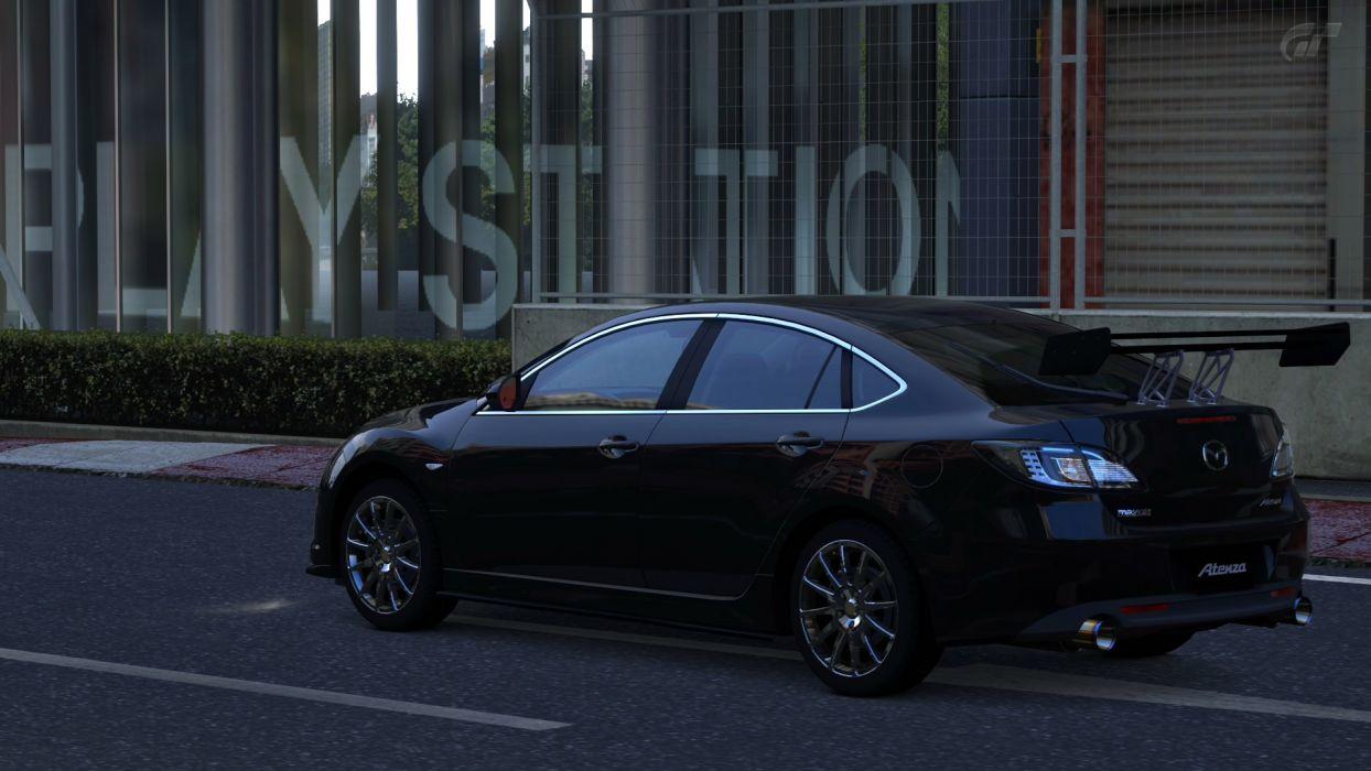 video games cars vehicles Gran Turismo 5 Playstation 3 Mazda Atenza wallpaper