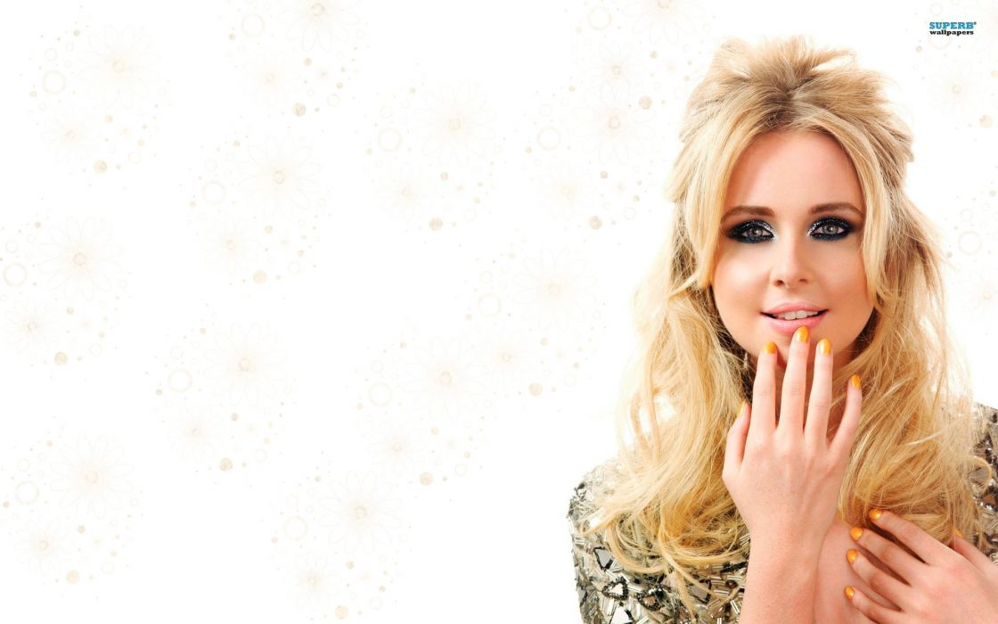 blondes women eyes faces Diana Vickers wallpaper