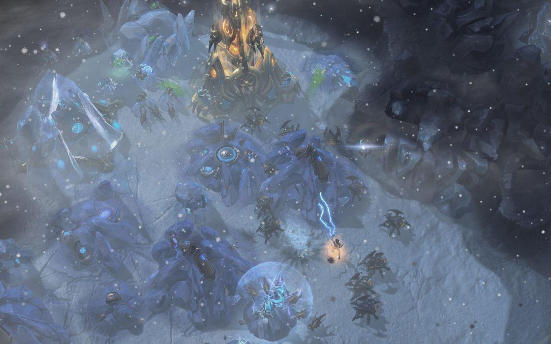 swarm StarCraft II wallpaper
