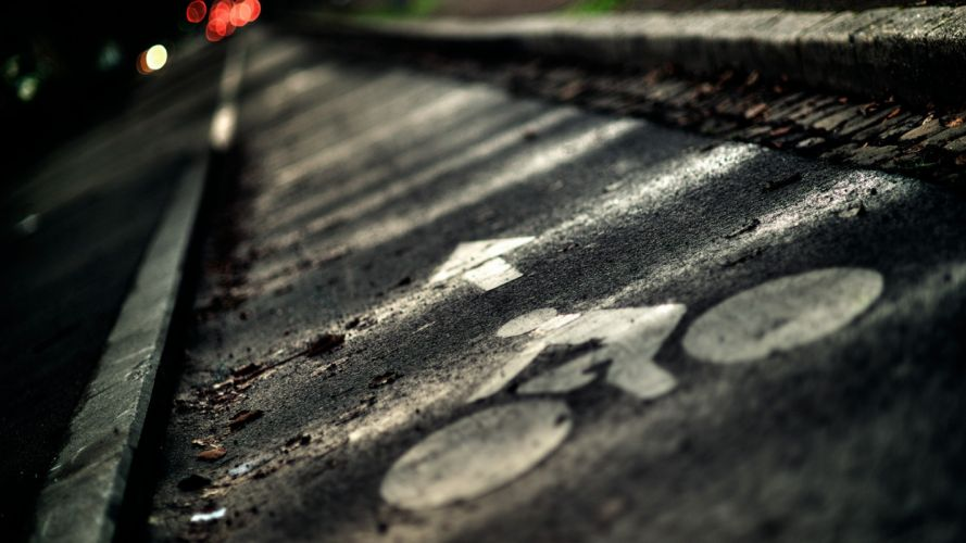 close-up streets bicycles wallpaper