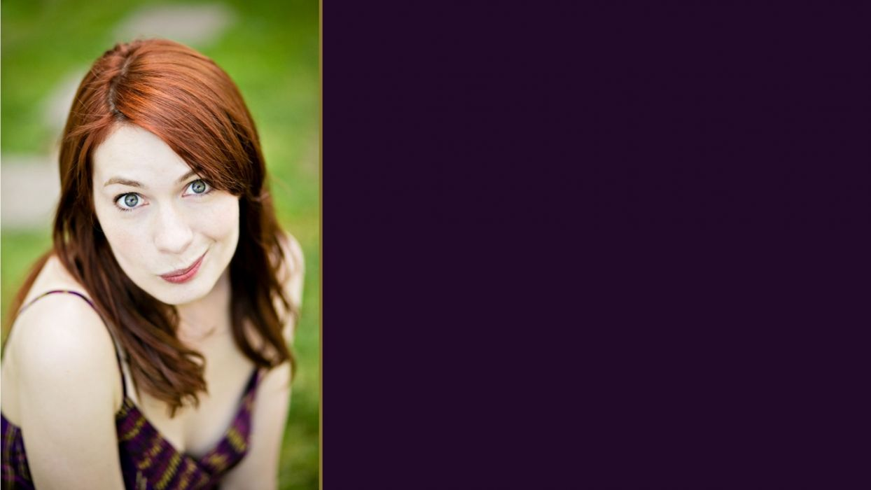 women redheads Felicia Day The Guild wallpaper