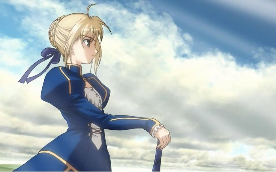 Fate/Stay Night Saber  anime girls Fate series wallpaper