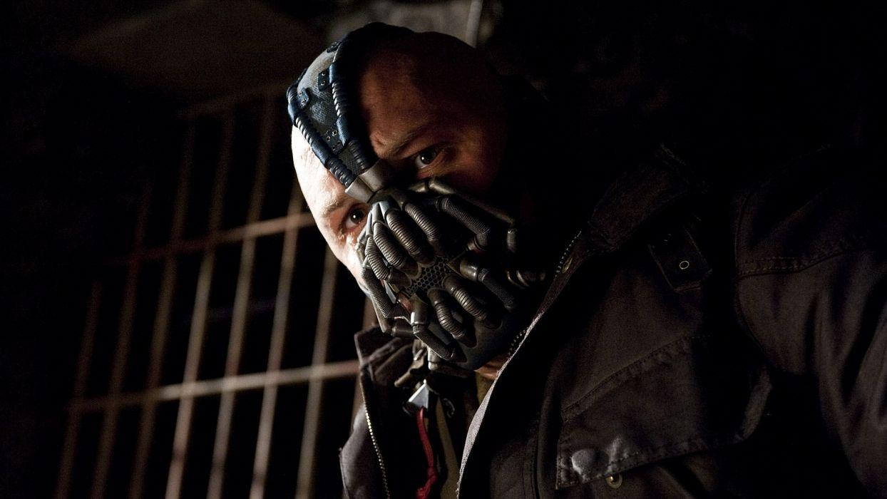 Batman Gotham City Bane Tom Hardy Batman The Dark Knight Rises wallpaper