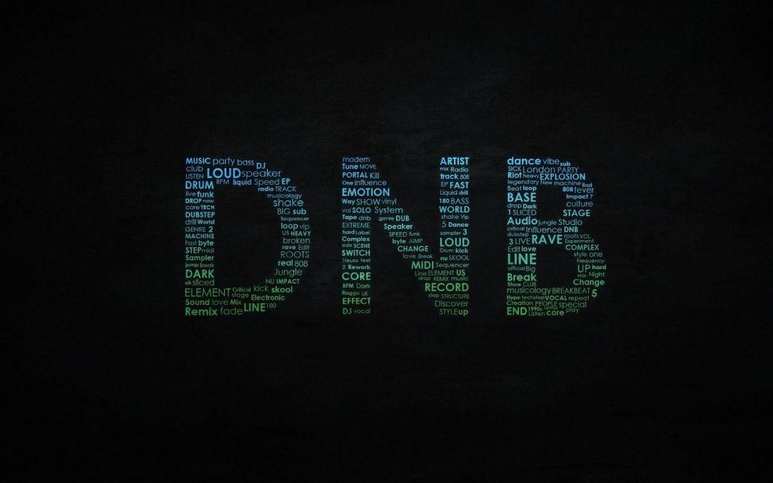 music text font drum and bass wallpaper