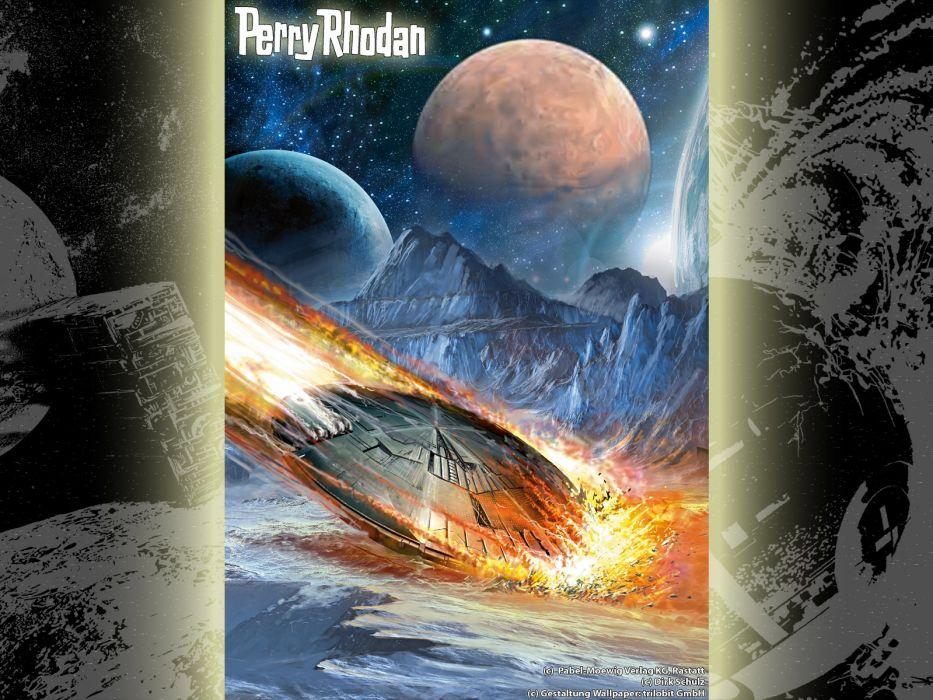 magazines Perry Rhodan science fiction wallpaper