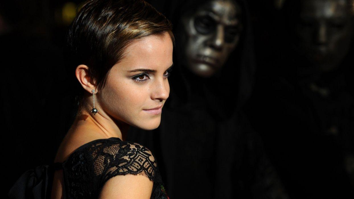 women Emma Watson actress celebrity Death Eaters wallpaper
