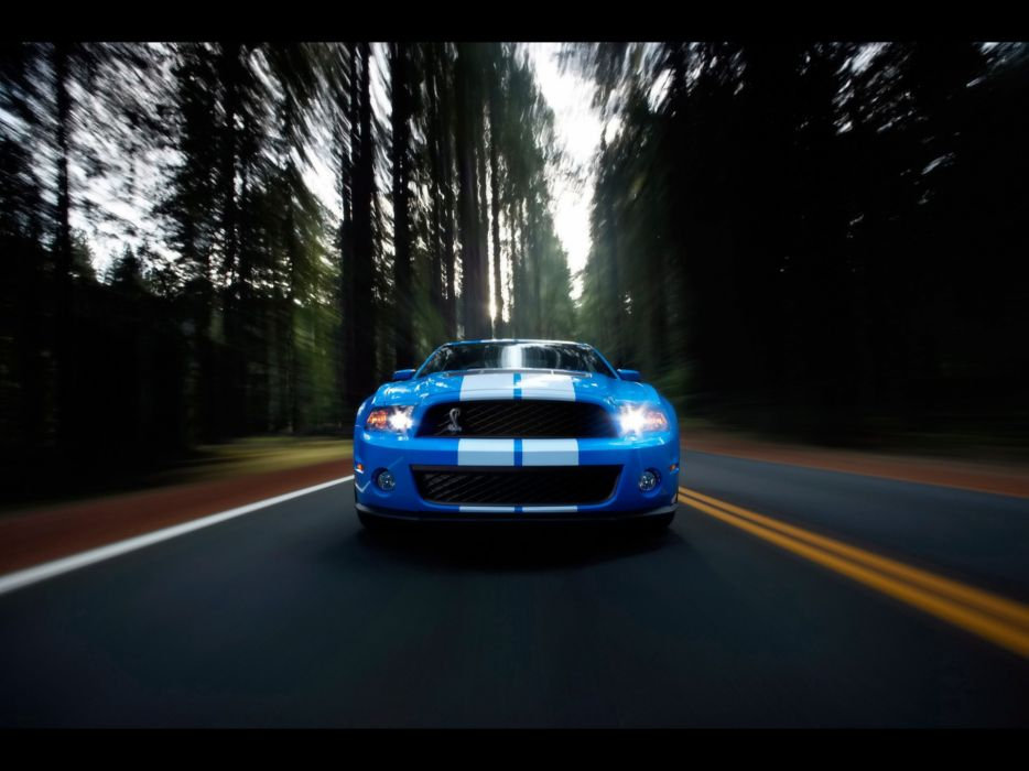 muscle cars Ford Shelby Ford Mustang Shelby GT500 wallpaper