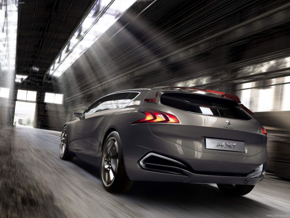 cars concept cars Peugeot HX1 wallpaper