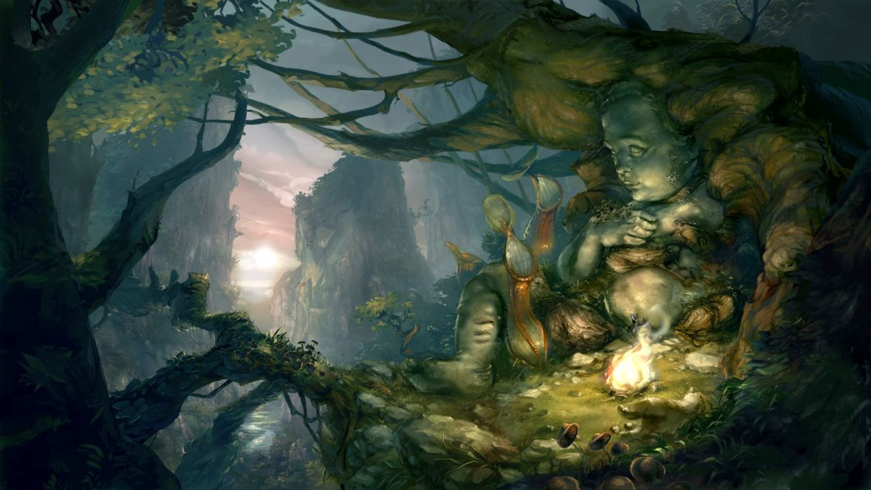 THE WHISPERED WORLD fantasy adventure (3) wallpaper