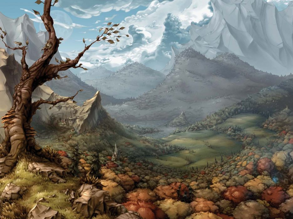 THE WHISPERED WORLD fantasy adventure (6) wallpaper