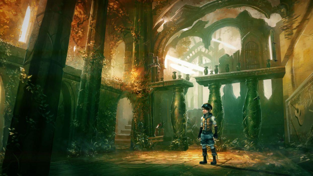 THE WHISPERED WORLD fantasy adventure (7) wallpaper