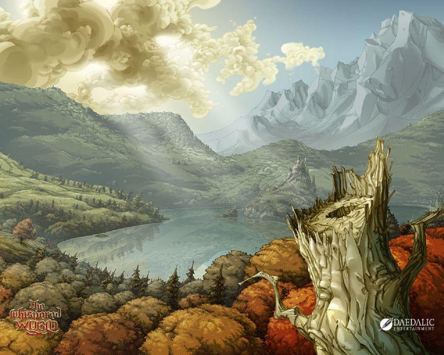 THE WHISPERED WORLD fantasy adventure (8) wallpaper