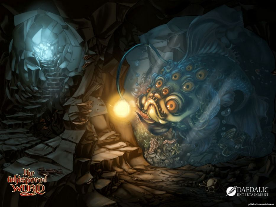 THE WHISPERED WORLD fantasy adventure (16) wallpaper