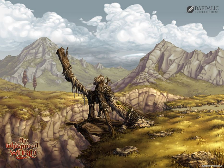 THE WHISPERED WORLD fantasy adventure (17) wallpaper