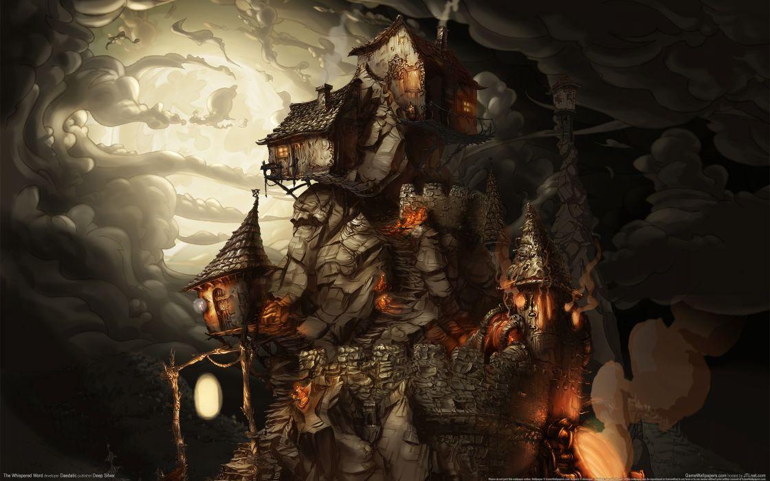 THE WHISPERED WORLD fantasy adventure (23) wallpaper