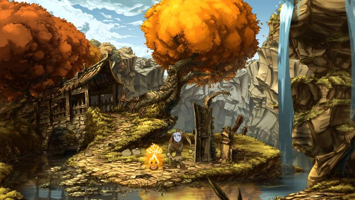 THE WHISPERED WORLD fantasy adventure (26) wallpaper