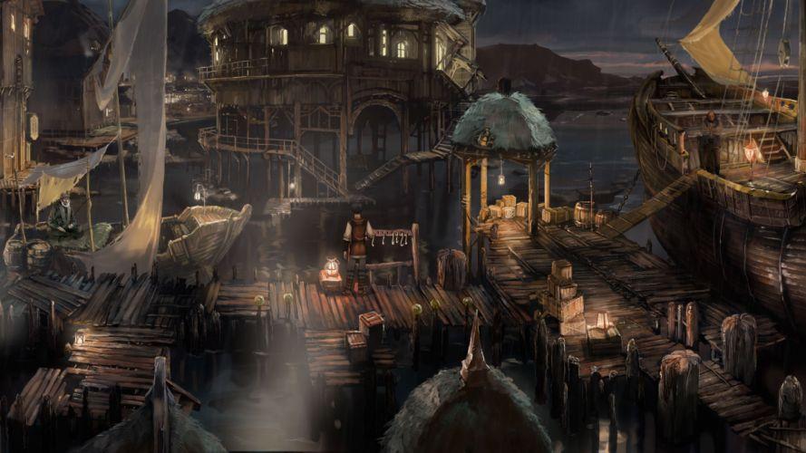 THE DARK EYE fantasy adventure the-dark-eye (25) wallpaper