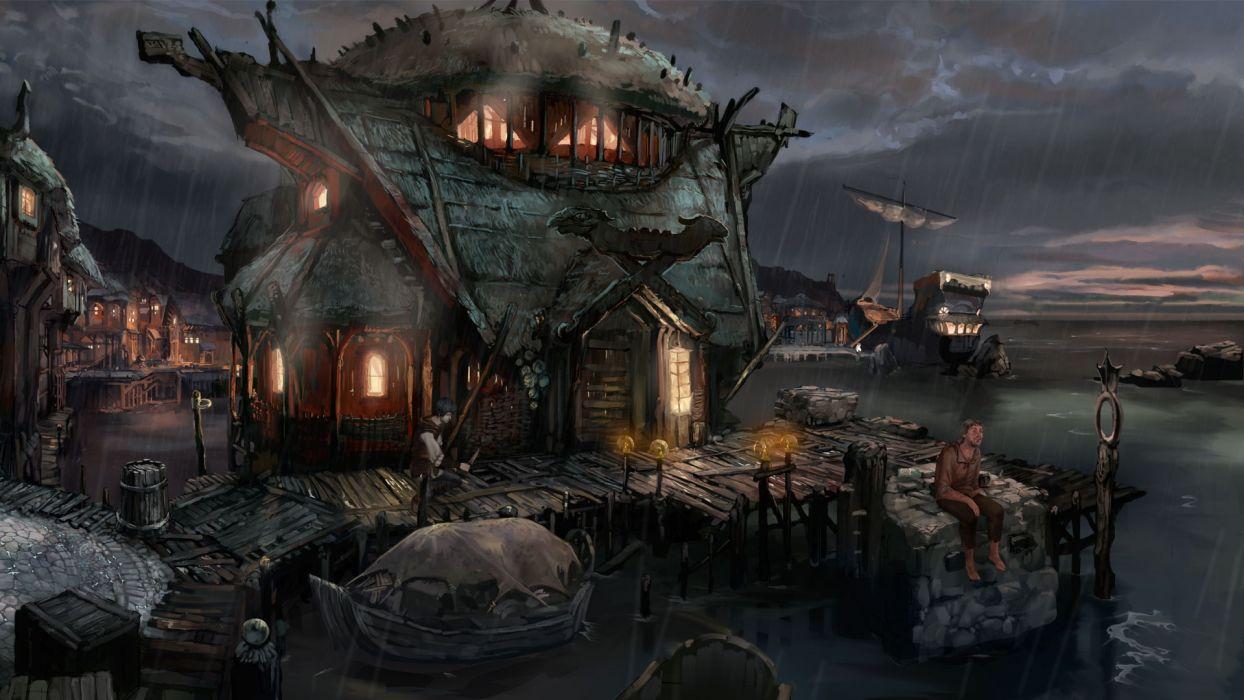 THE DARK EYE fantasy adventure the-dark-eye (29) wallpaper