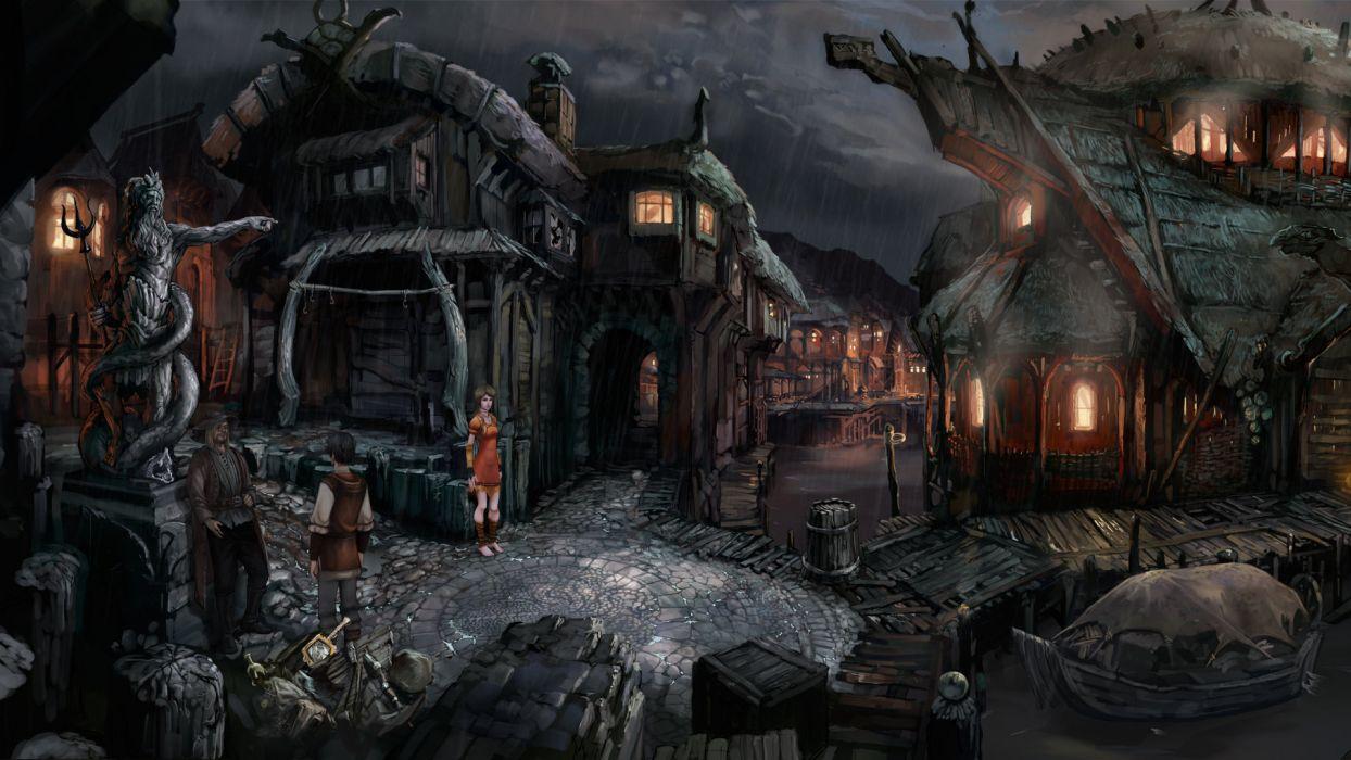 THE DARK EYE fantasy adventure the-dark-eye (31) wallpaper