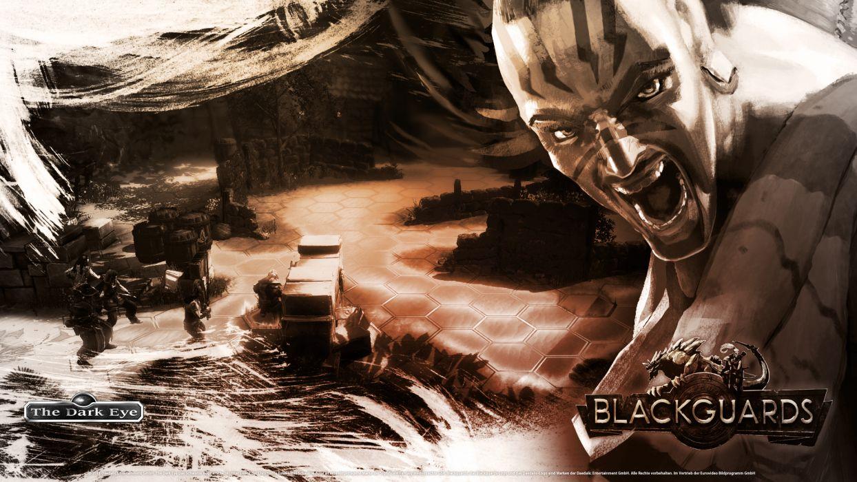 BLACKGUARDS fantasy adventure the-dark-eye (5) wallpaper