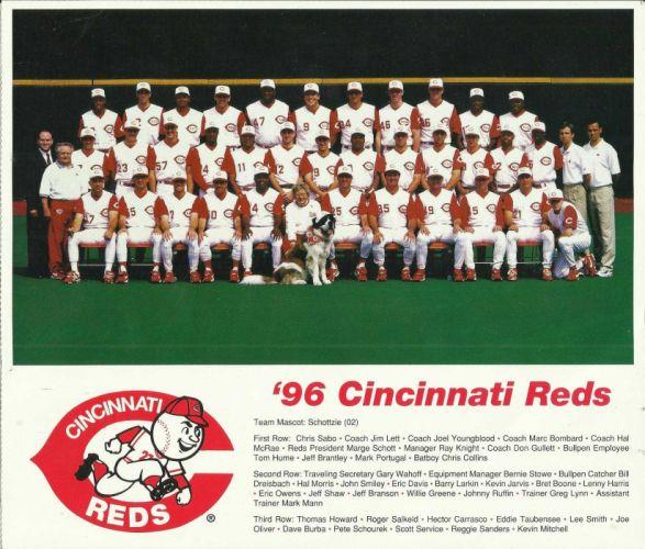 CINCINNATI REDS mlb baseball (4) wallpaper
