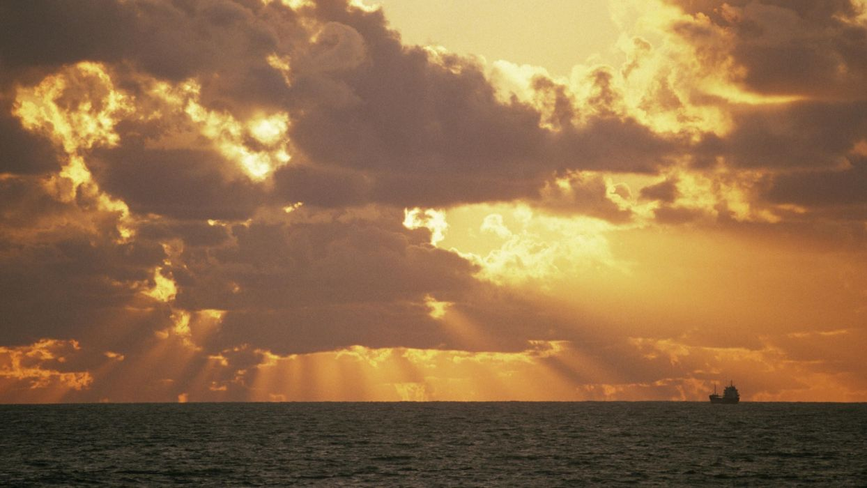 horizon England sailing wallpaper