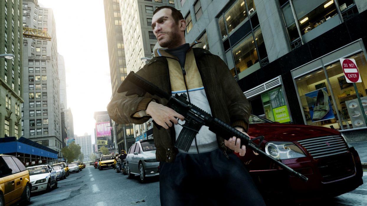 Video Games Screenshots Niko Bellic Grand Theft Auto Iv Wallpaper